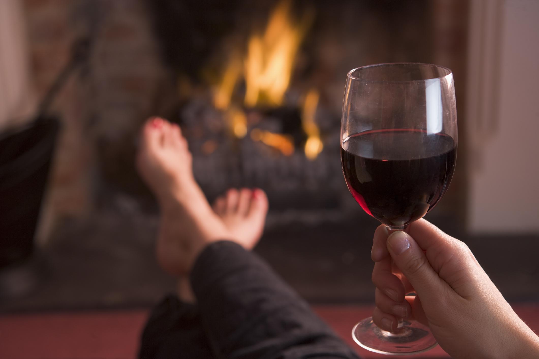 s vino na kamina
