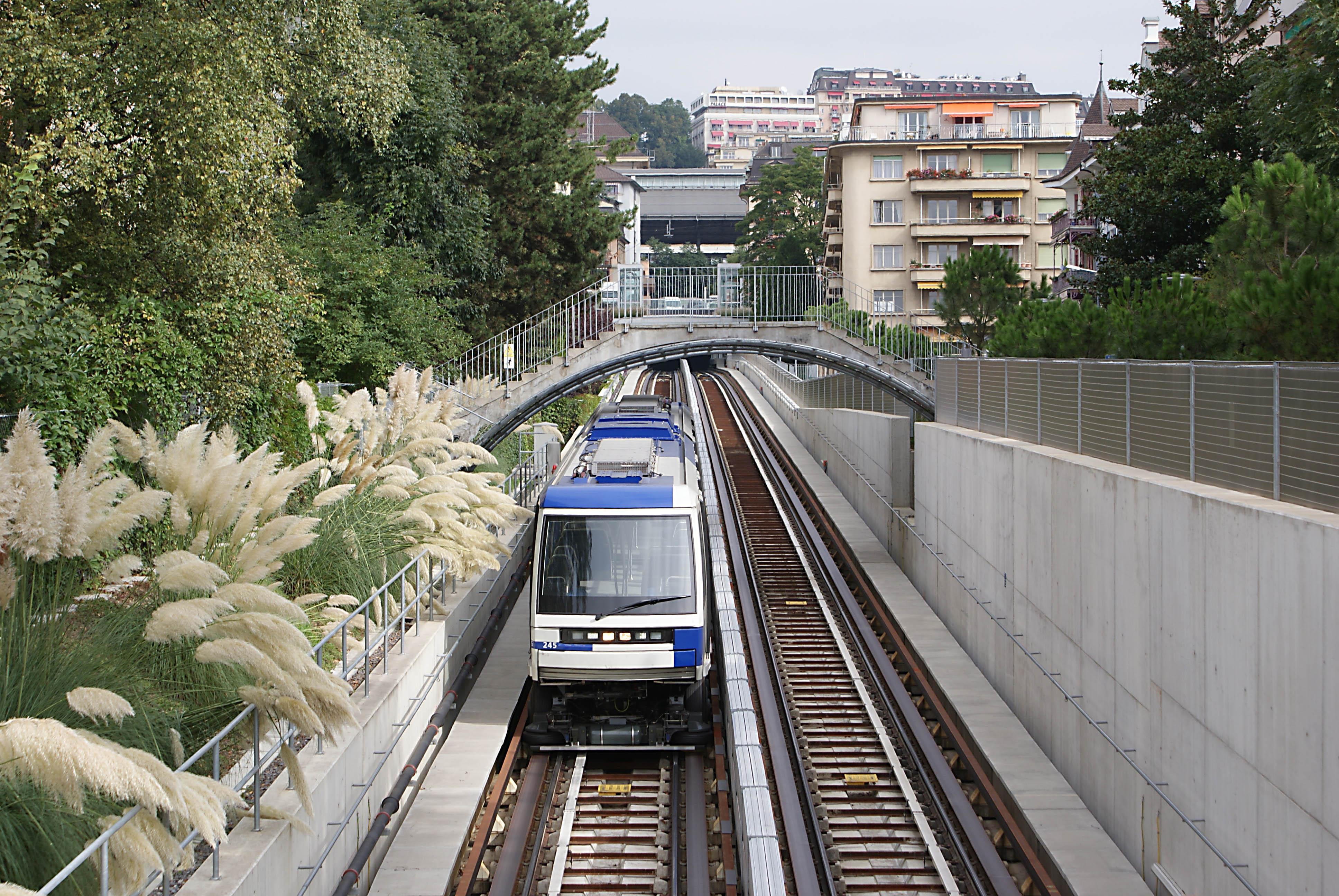 Metro M2 Lausanne1
