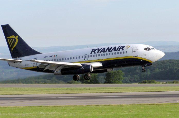 Ryanair b737 200 ei cnv bristol arp1