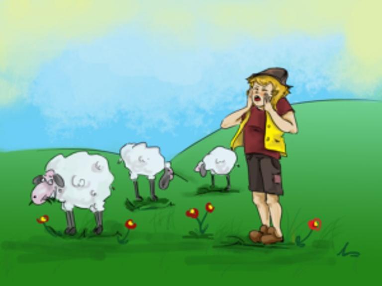 lazhlivoto ovcharche prikazka1